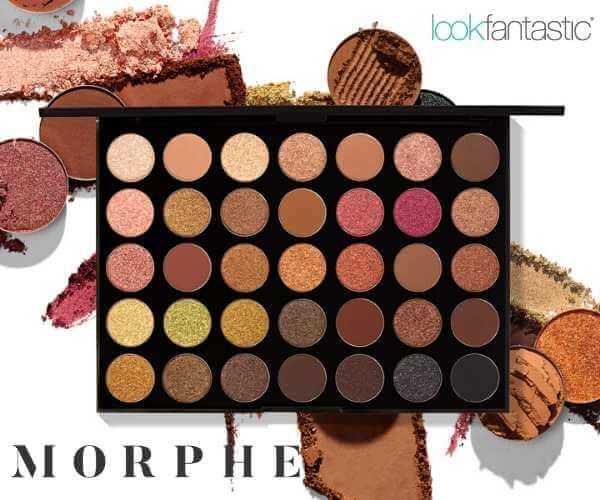 LookFantastic MORPHE & ジオーディナリー & ESPAのバナーデザイン