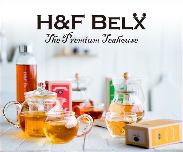 ルイボスティー&ノンカフェイン専門店【H&F BELX】のバナーデザイン