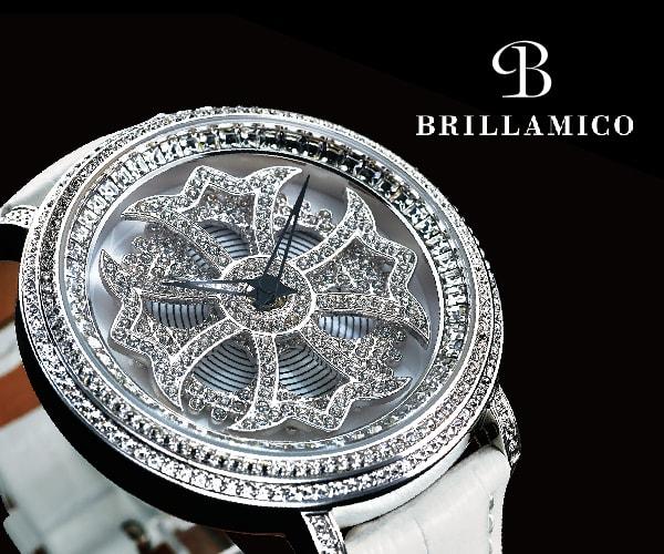 芸能人や有名人にも人気! 遊びの時間を刻む時計 【BRILLAMICO(ブリラミコ) 公式ストア】のバナーデザイン